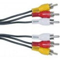 Cable audio video RCA a RCA Microlab