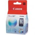 Canon Catrigde-Tinta CL-211 COLOR