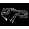 Cable de Carga Trust Ps4 Duo Gxt222